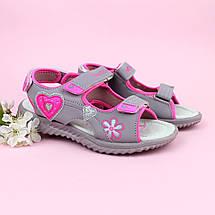 Детские босоножки сандалии Спортивные для девочек тм TOMM размеры 37, фото 3
