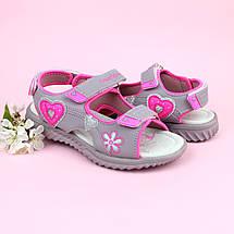 Детские босоножки сандалии Спортивные для девочек тм TOMM размеры 37, фото 2