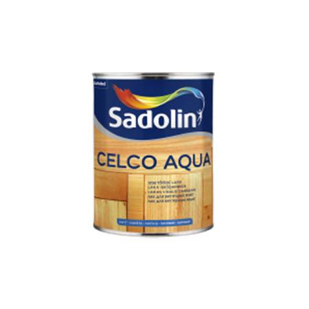 Лак для внутренних работ SADOLIN CELCO AQUA матовый 10