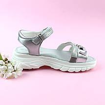 Босоножки для девочки Серебро тм Том.м размер 32,34, фото 3