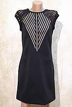 Стильное черное платье от Ирена Ричи. Стильна чорна сукня від Ірена Річі.
