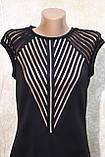 Стильное черное платье от Ирена Ричи. Стильна чорна сукня від Ірена Річі., фото 2