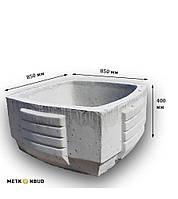 Цветочница бетонная К-3 (180 кг. 85*85*40)