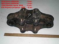 Кронштейн реактивной  штанги передний (ЕВРО). 5320-2919090-20