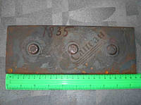 Лист задней рессоры №12  (верхний) 240x90x12mm. 5320-2912111