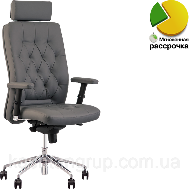 Кресло CHESTER R HR steel ST AL70 Тканина BLAZER