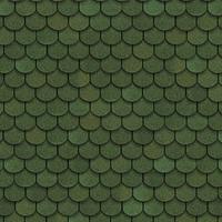 """Битумная черепица """"Shinglas"""" Танго """"бобровый хвост"""" ( зеленый ), фото 1"""