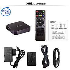 Смарт ТВ приставка Tina X96 mini 2/16GB Smart Tv Box, фото 2