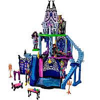 Детский Игровой Набор Замок 3-х этажный Монстер Хай с мебелью Monster High Playset Freaky Fusion Catacombs, фото 1
