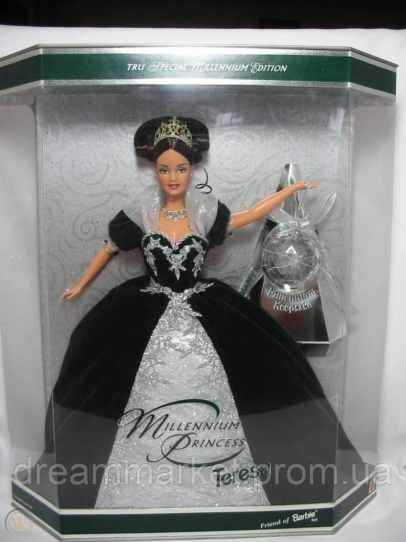 Коллекционная Кукла Барби Миллениум Брюнетка Тереза 1999 года - Barbie Millennium Princess Teresa Doll