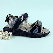 Спортивные сандалии на липучках мальчику Том.м размер 34,35,36,37, фото 2