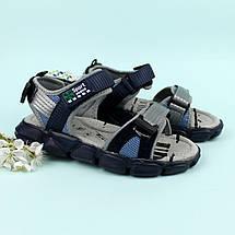 Спортивные сандалии на липучках мальчику Том.м размер 34,35,36,37, фото 3