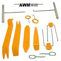 Универсальные съёмники обшивки салона и магнитол AWM F-10
