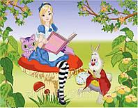 """Роспись по холсту для детей. """"Мечты Алисы"""" 25х35см арт. 7133/3"""