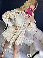 Плаття реплика женское кружевное красивое на свадьбу выпускное вечерние нарядное коктельное