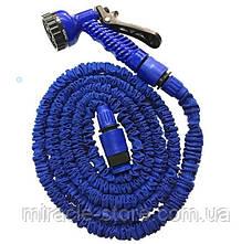 Шланг Magic Hose на 45 метрів, розтягується шланг поливальний, кольори Синій і Зелений, фото 3