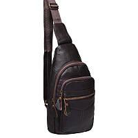Мужской кожаный рюкзак Akor akK13035-brown
