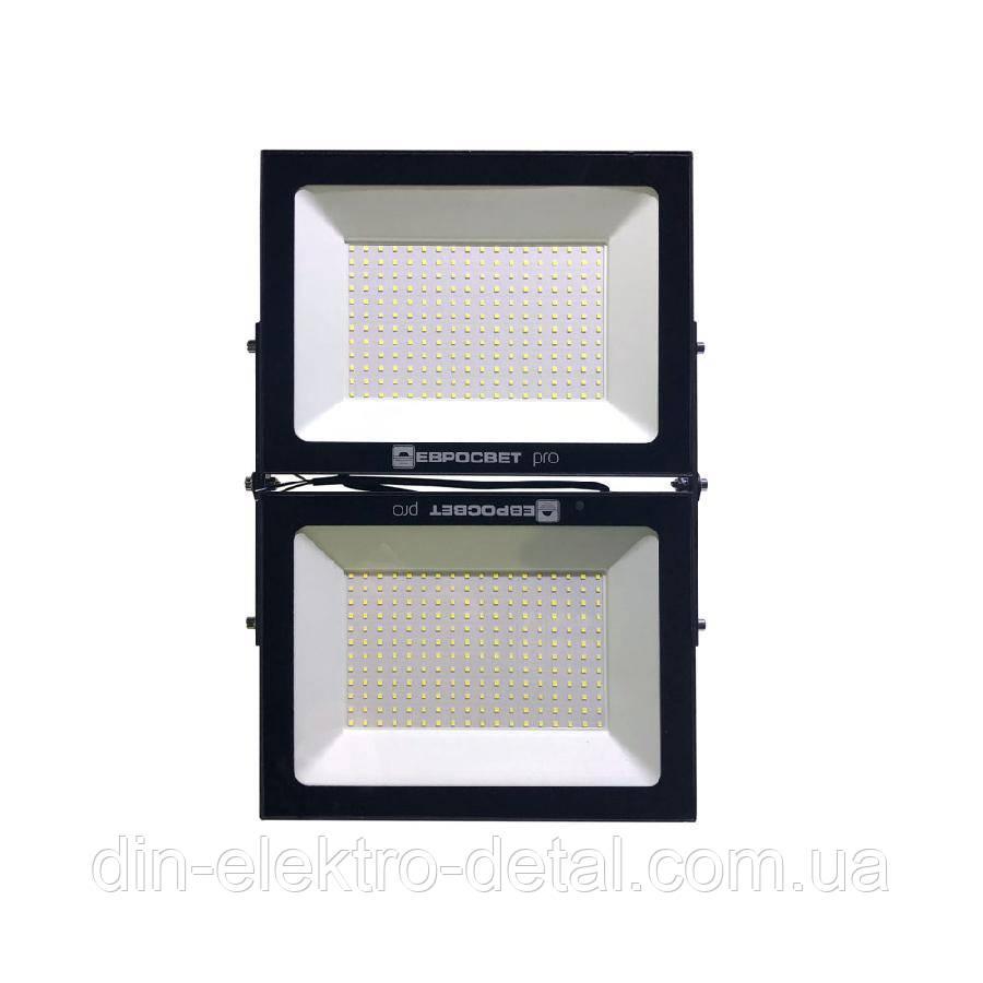 Прожектор светодиодный ЕВРОСВЕТ 250Вт 6400К EV-250-01М 22500Лм, модульный