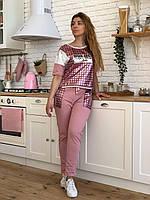 Женский брендовый спортивный костюм (Турция, RAW); разм 42,44,46,48,50