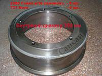 Барабан тормозной (проточенный  на 399 - 398 мм.). 5320-3501070-02