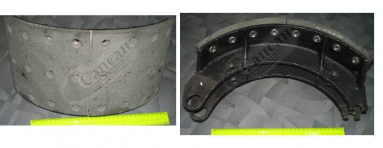 Колодка тормозная в сборе  (ЕВРО-2(Н/Ч). 6520-3501090-51