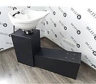Мойка парикмахерская CHEAP (БЕЗ кресла) Раковина для парикмахерских+сантехника+станина (без кресла)