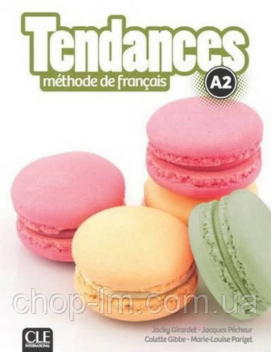 Tendances A2 Livre de l'élève avec DVD-ROM - Cle International / Учебник