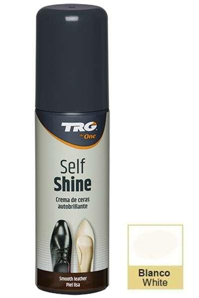 ✅ Жидкий белый крем для блеска обуви TRG Self Shine, 75 мл