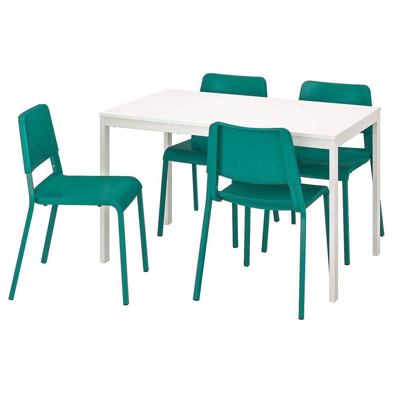Стол и 4 стула VANGSTA / TEODORES