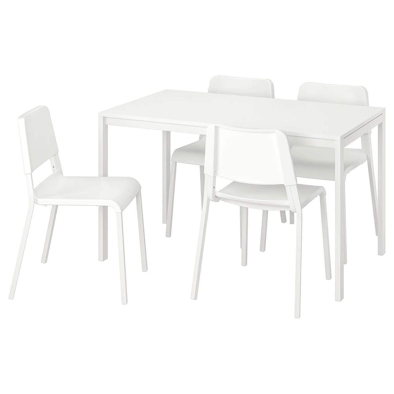 Стол и 4 стула MELLTORP / TEODORES