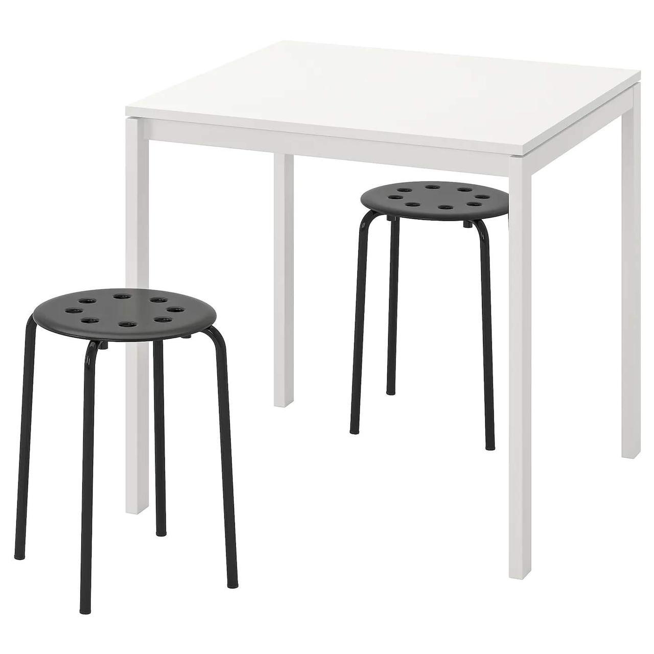 Стол и 2 стула MELLTORP / MARIUS