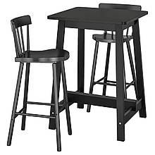 Барный стол и 2 стула NORRAKER / NORRARYD