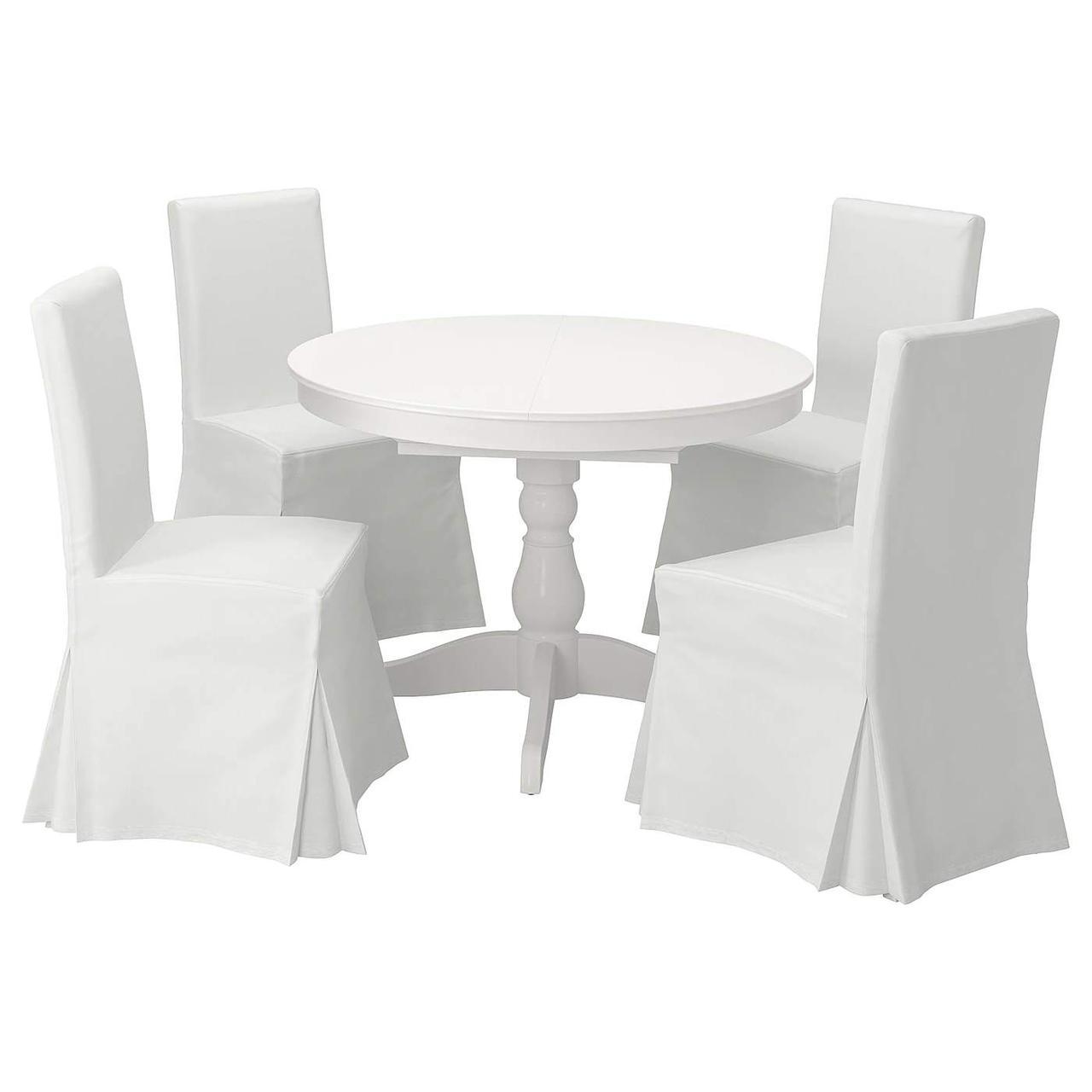 Стол и 4 стула INGATORP / HENRIKSDAL