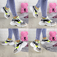 Женские белые кроссовки Jacob 1303  эко-кожа эко-замша  Размер 38 - 24 см по стельке, обувь женская