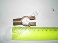 Клемма аккумуляторной  батареи латунь (минус). 5320-372401