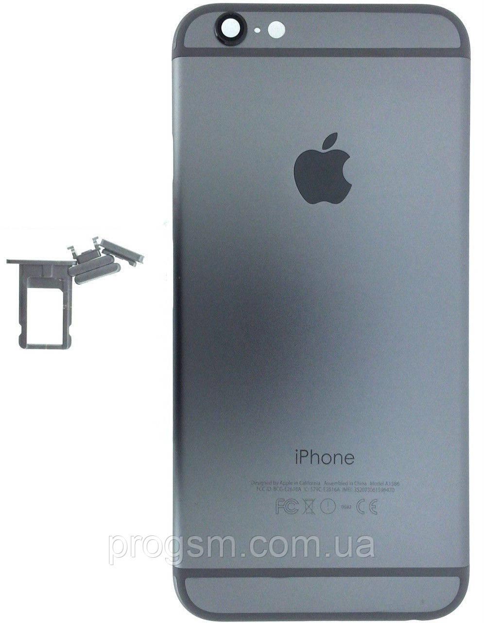 """Крышка задняя iPhone 6 (4.7"""") Silver"""