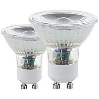 Лампа светодиодная LM LED GU10 3000K, Eglo [11511]