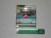 Лампа фары (Диалуч) 24V 75/70W P43T Crystal комплект 2шт. 24704 Crystal