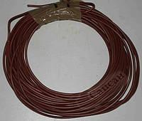 Провод электрический  ПВ-3 1,5 коричневый.