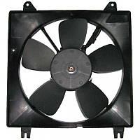 Вентилятор радиатора в сборе основной Нубира, Лачетти 1.8, 96553242