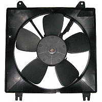Вентилятор радіатора основний Lacetti 1.8 / Лачетті 96553242