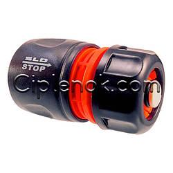 Коннектор 1/2″ с клапаном для полива