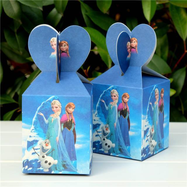 Подарочные коробки Холодное сердце 6 шт
