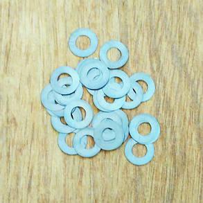 Шайба регулювальна 0.01 мм 10.00 мм - 5.00 мм форсунки (100 шт), фото 2