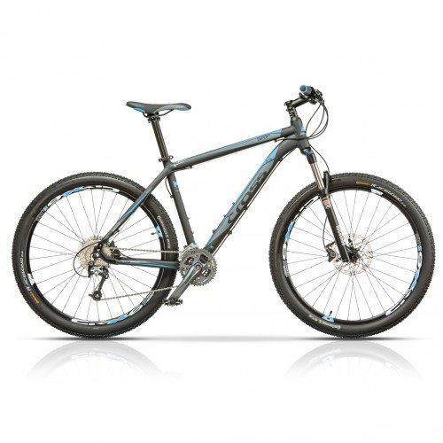 """Велосипед 27.5"""" CROSS GRIP 9 27 spd рама 19"""" 2015 серый"""