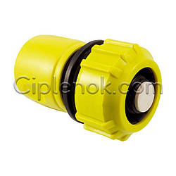 Коннектор 3/4″ с клапаном для полива Тип-2