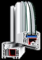 Металлопластиковые ПВХ конструкции, профиль VEKA SoftLine 82