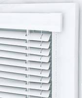 Горизонтальные жалюзи Соло Дизайн, цвет белый, ламель метал 25мм