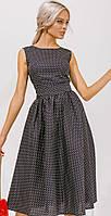 Элегантное платье в горошек. Весенняя летняя женская одежда