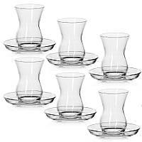 Рюмки з серії side кавовий набір (турецькі склянки) 6 персон Pasabahce 98942